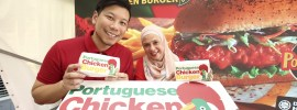 Portuguese Chicken Burger sensasi terbaru di McDonald's!