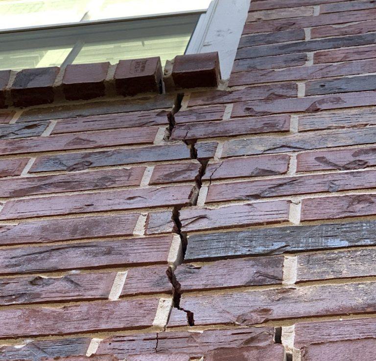 Cracked brick?  Call us!
