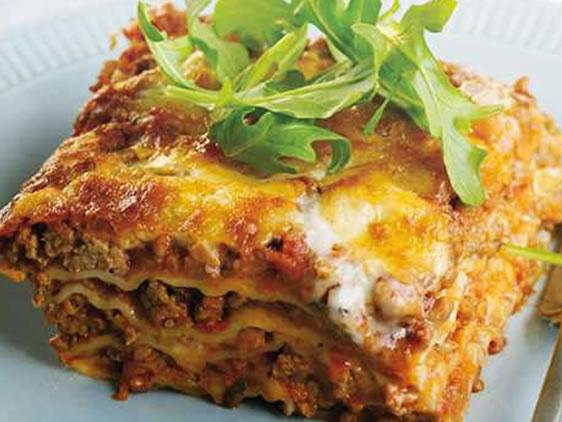 Beef-Lasagne