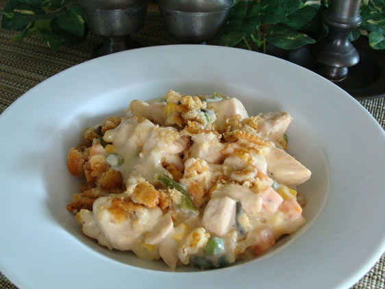 Creamy Sour Cream Chicken Casserole