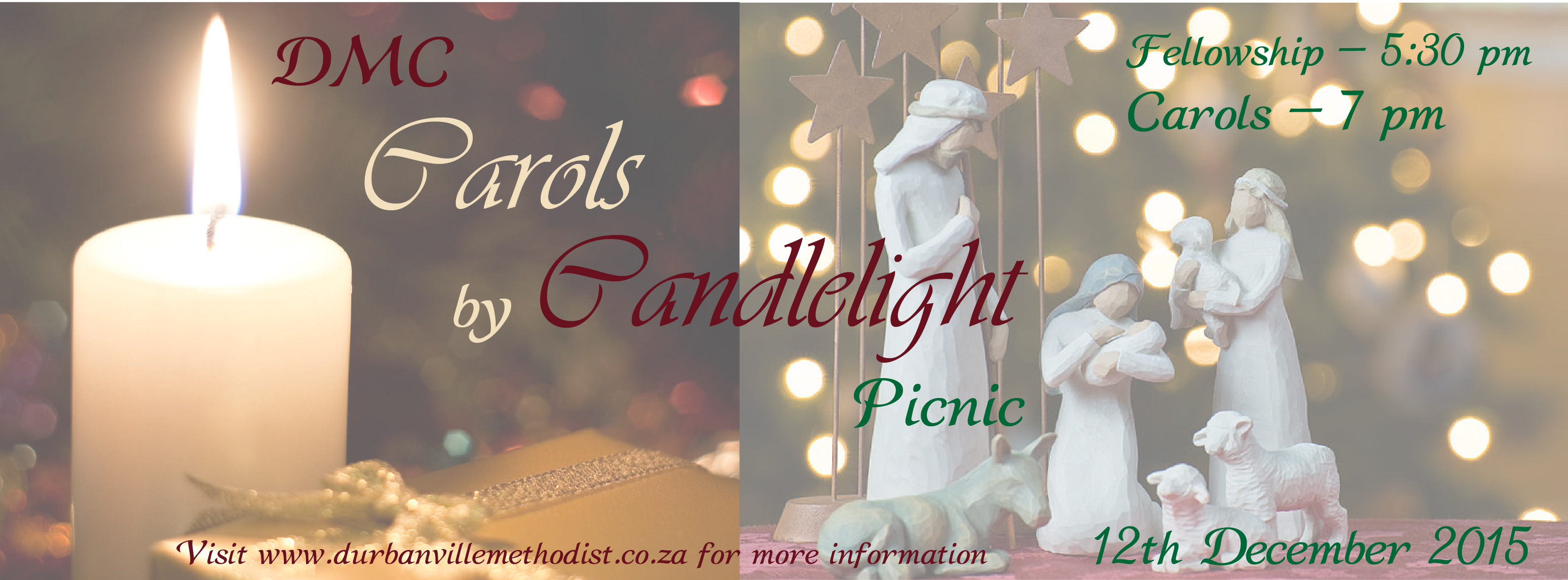 Carols by Candlelight – 12 December 2015
