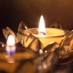 Tupper-Event mit Kerzen
