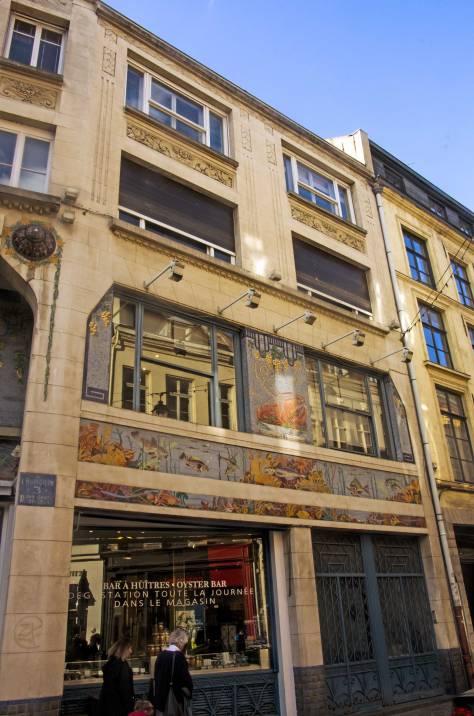 Lille-Geschäftszentrumt