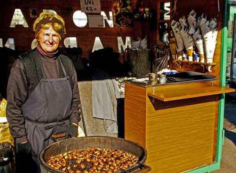 Graz-Maronenverkäuferin