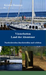 Cover vorne Reiseführer Västerbotten 1