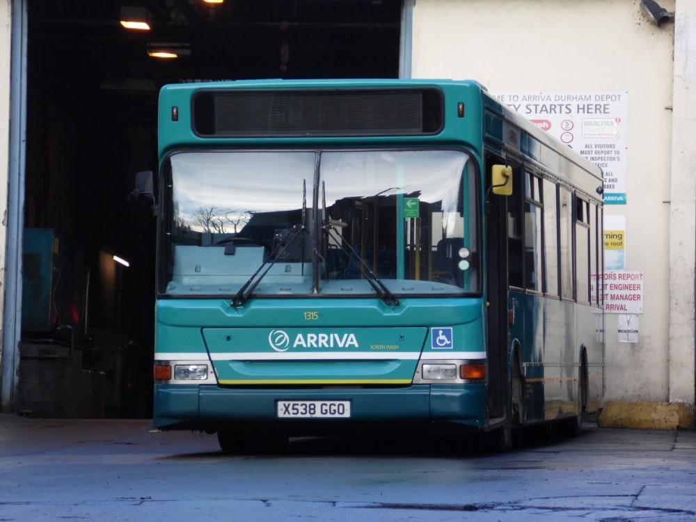 Durham Bus Update 01/01/13 (3/6)