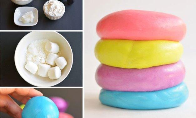 Marshmellow Playdough
