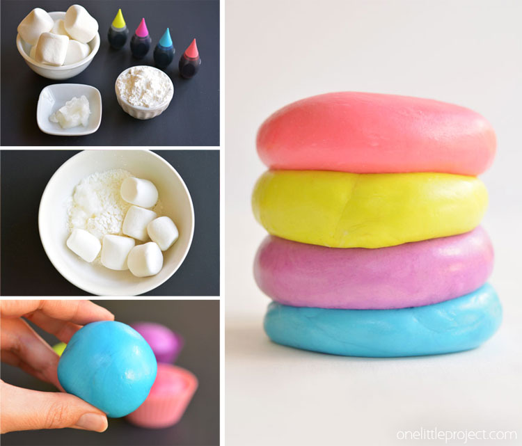 Marshmellow Playdough