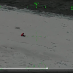 Watch rescue of two hikers from sheared ice floe
