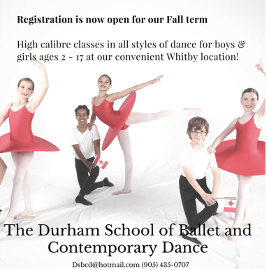 Registration Ballet Ad
