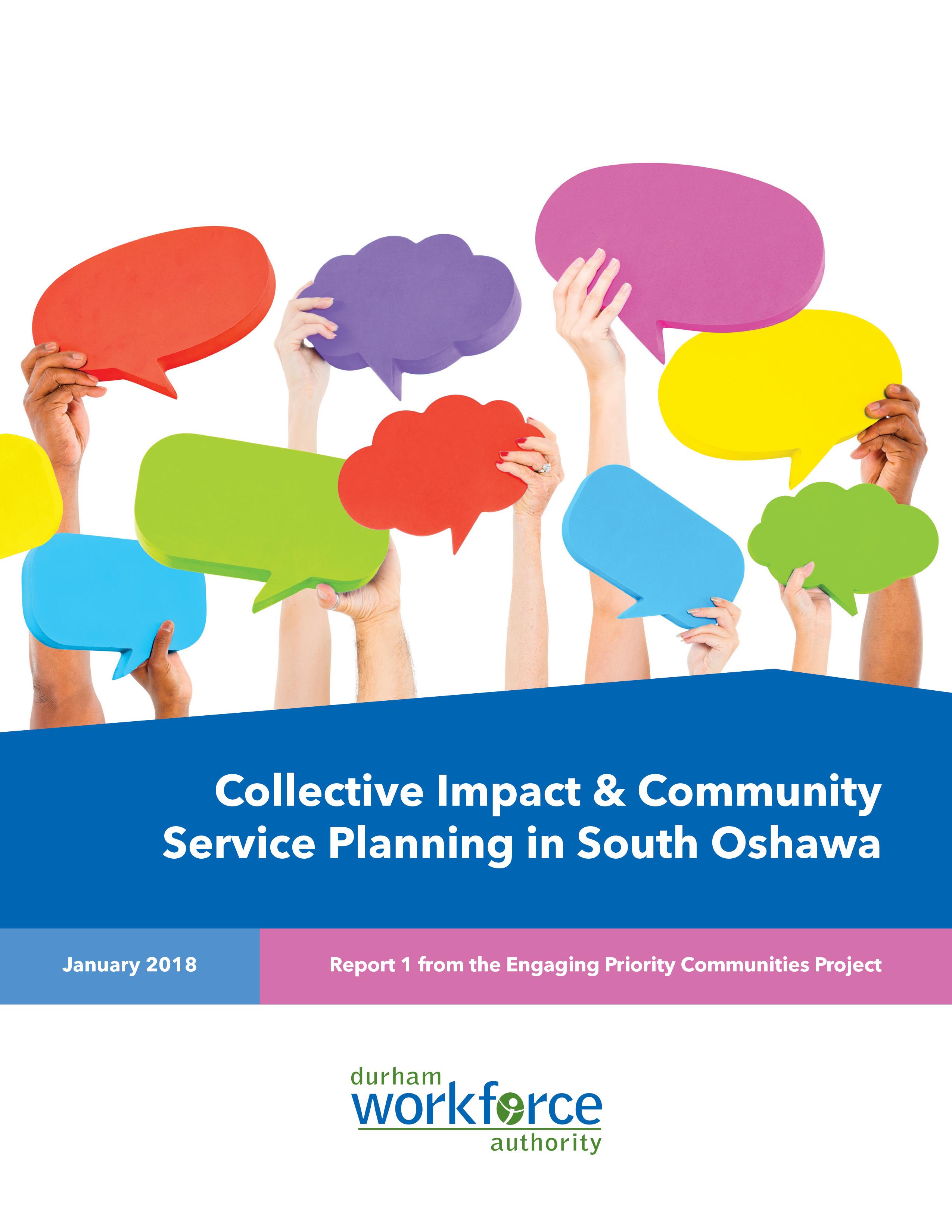 Community Service Planning South Oshawa Cover