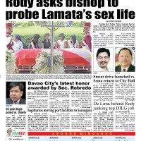 Duterte asks bishop to probe sex life of Catholic priest Fr. Pete Lamata