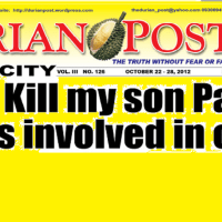 Rody Duterte: Kill my son Paolo  if he is involved in crime