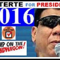 """'PRESIDENT Duterte' has a  """"First Lady'  in case he captures Malacanang in 2016"""