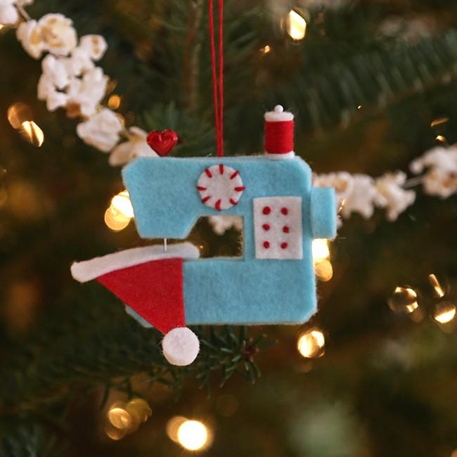 Ho Ho Sew! Ornament
