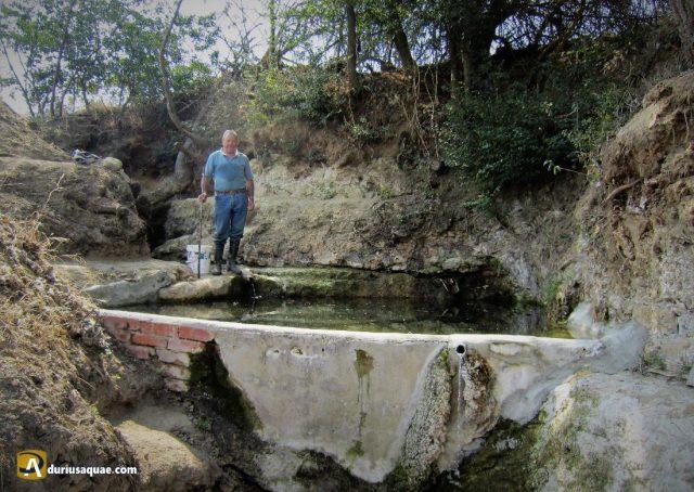 Durius Aquae: Manolo en la Fuente de la Virgen