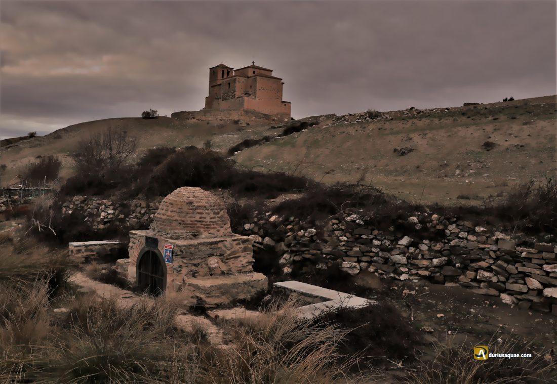 El Eresma; cruzando entre Bernardos y Carbonero