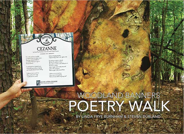 Woodland Banners Poetry Walk cover