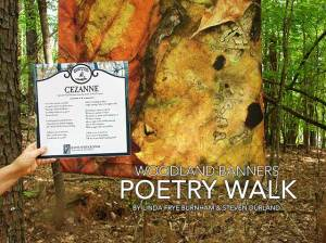 Woodland Banner Poetry Walk book