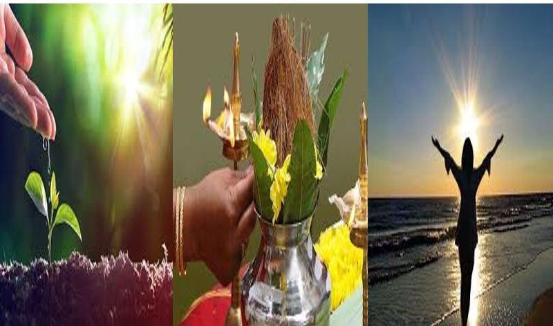 আমাদের সভ্যতাই দিতে পারে উৎসব ও প্রকৃতি কৃতজ্ঞতার বন্ধন