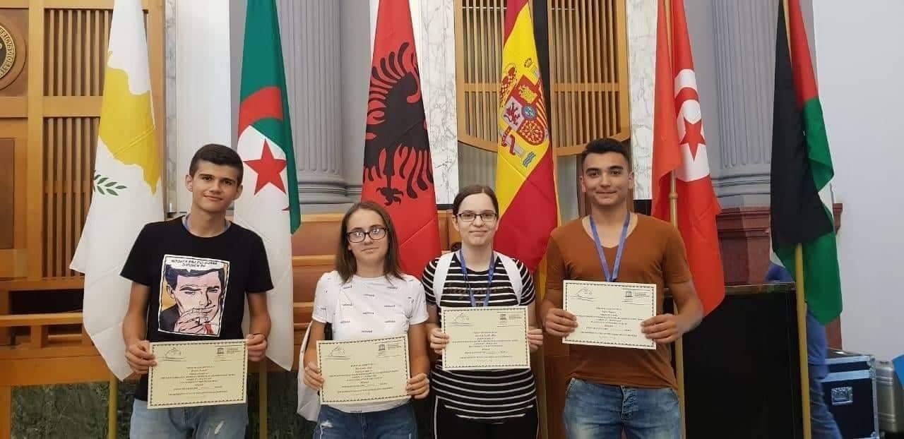 Konkursi Mesdhetar i Matematikës për të Rinj