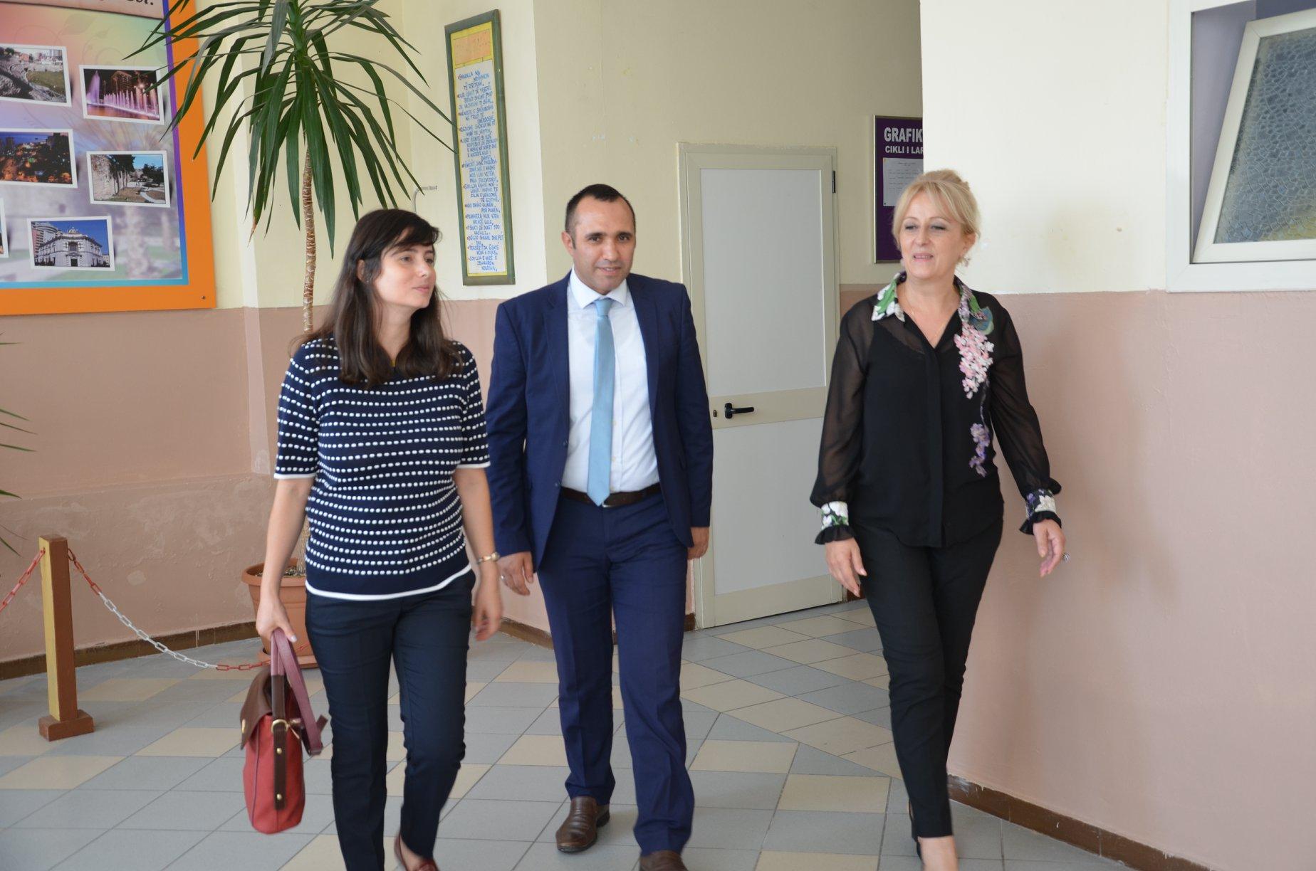 Vizitë në Drejtorinë Rajonale të Arsimit Parauniversitar Durrës