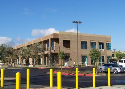 Commercial Office Space With Campus Construction: