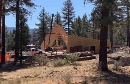 custom framing GSGLA Camp Lakota new construction
