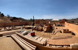 Cambria Suites Hotel construction