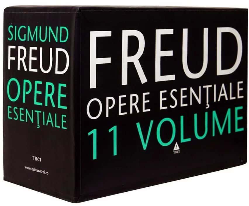 Pachet opere esentiale Sigmund Freud