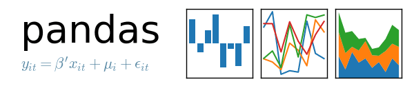 python pandas data science logo