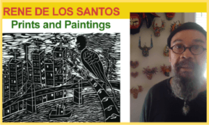 Rene de los Santos - Prints and Paintings