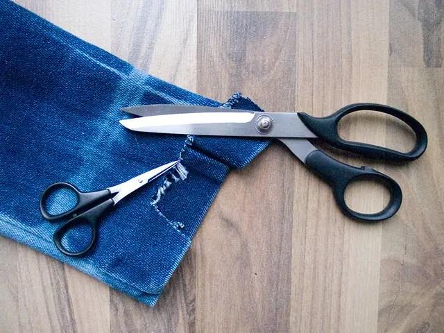 Itajime shibori tie-dye Bleached Studded Denim Jacket DIY Cutting sleeves