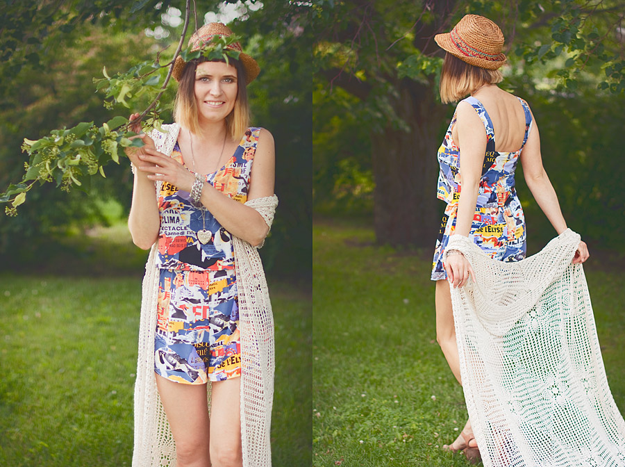 Summer DIY: Two Piece Set Made of a Vintage Dress Result