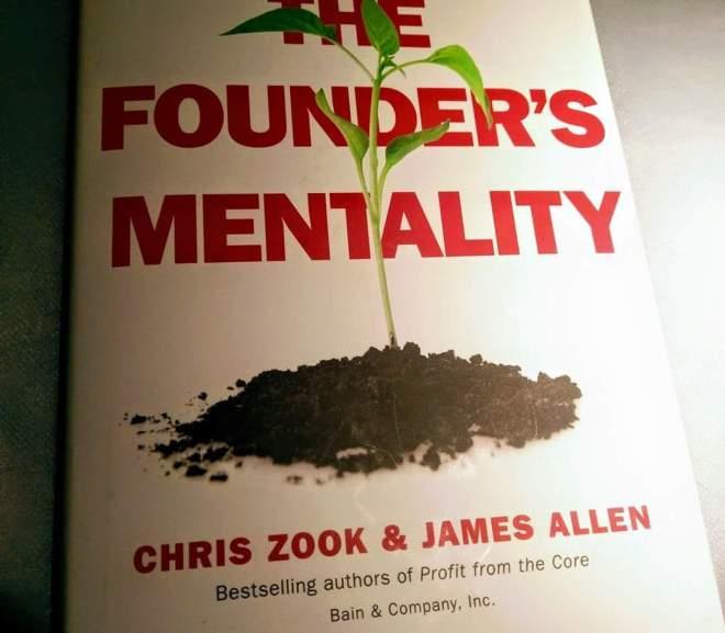 The founder's mentality 創業者的心志 (不論是否你是創業者)