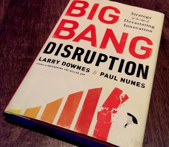 Big Bang Disruption 大爆炸式的創新