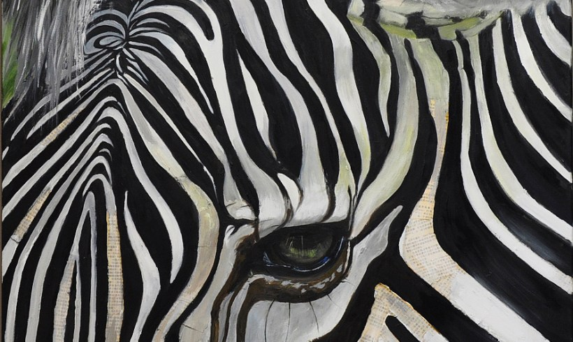Dusildesign.com Painting Zebra