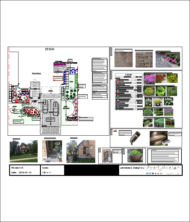 Landscape Design Half-Front Yard