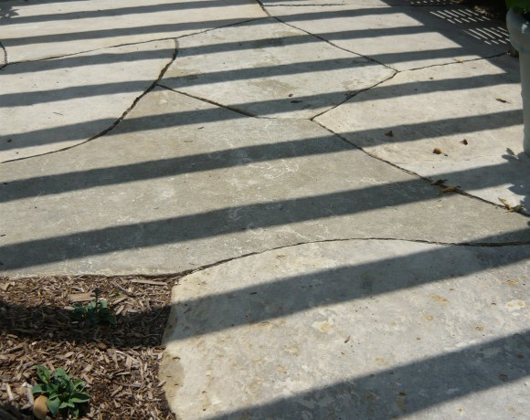 Giant Flagstone Patio