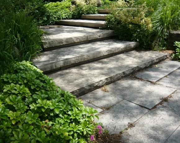 Natural Flagstone Steps