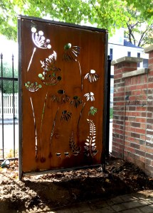 Metal Screen for Privacy