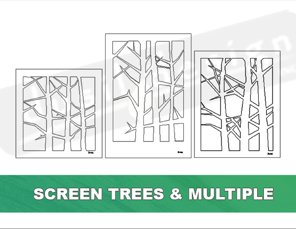 Screen Multiple Trees Panels