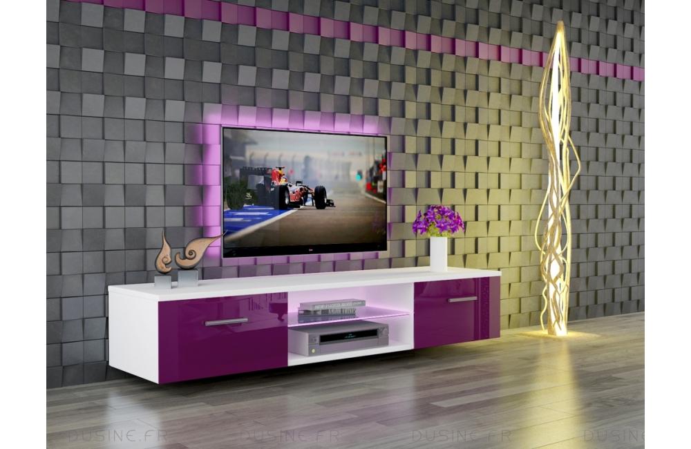 meuble salon banc tv giuliano 160 cm