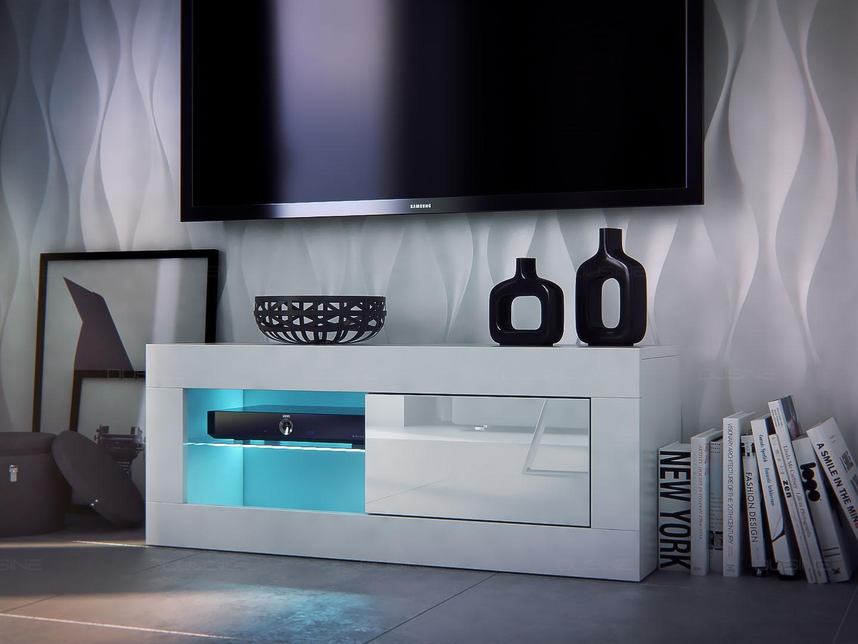 meuble salon banc tv iconik 100 cm