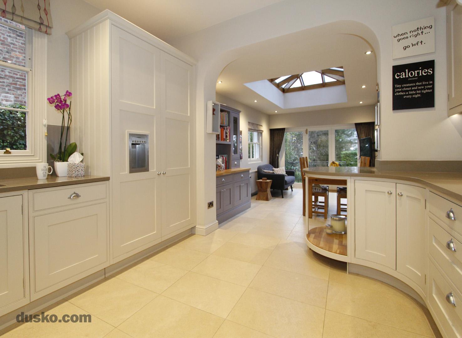 In Frame Kitchen in Bowdon, Cheshire Integrated Fridge Freezer