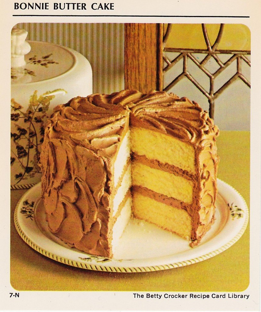 Betty Crockers Bonnie Butter Cake With French Silk Frosting