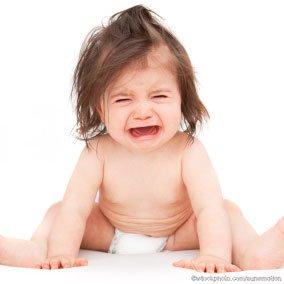 Website Optimization - frustrated baby