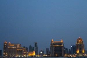 Kataradan St. Regis manzarası