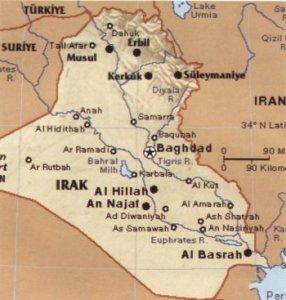 Irak Map
