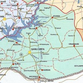 suruç harita